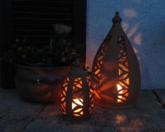 T pferei v hoesslin berchtesgadener keramik echte for Rostige laternen garten
